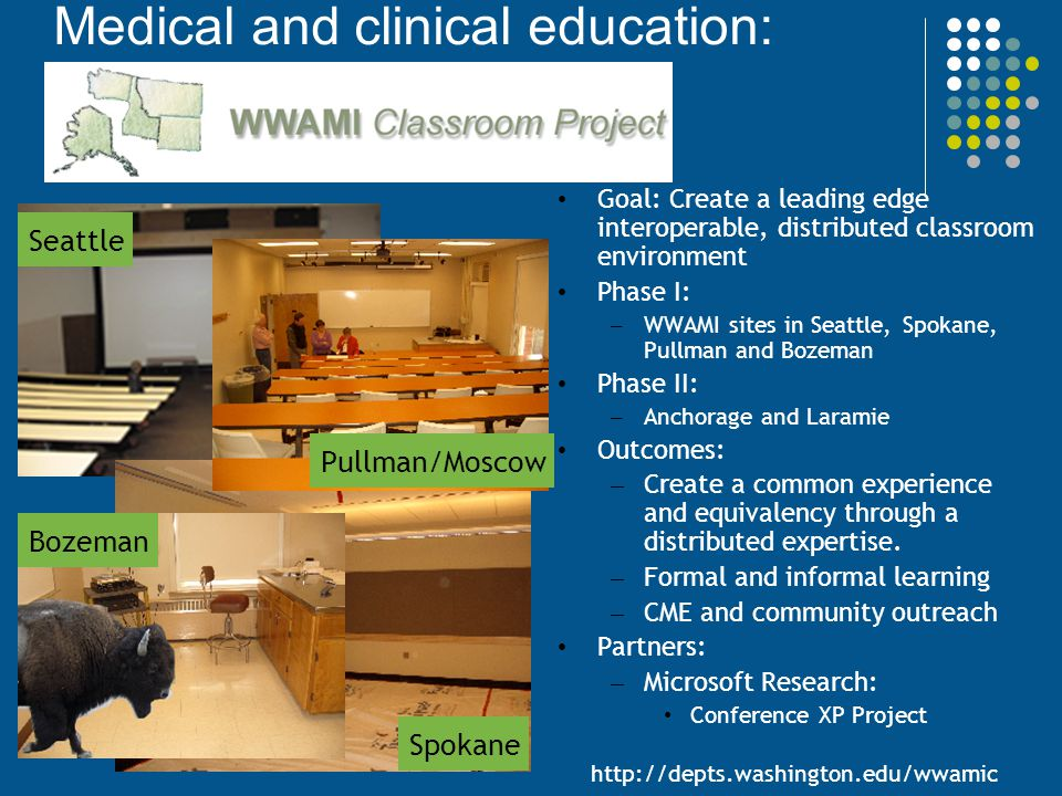 Medical and clinical education: