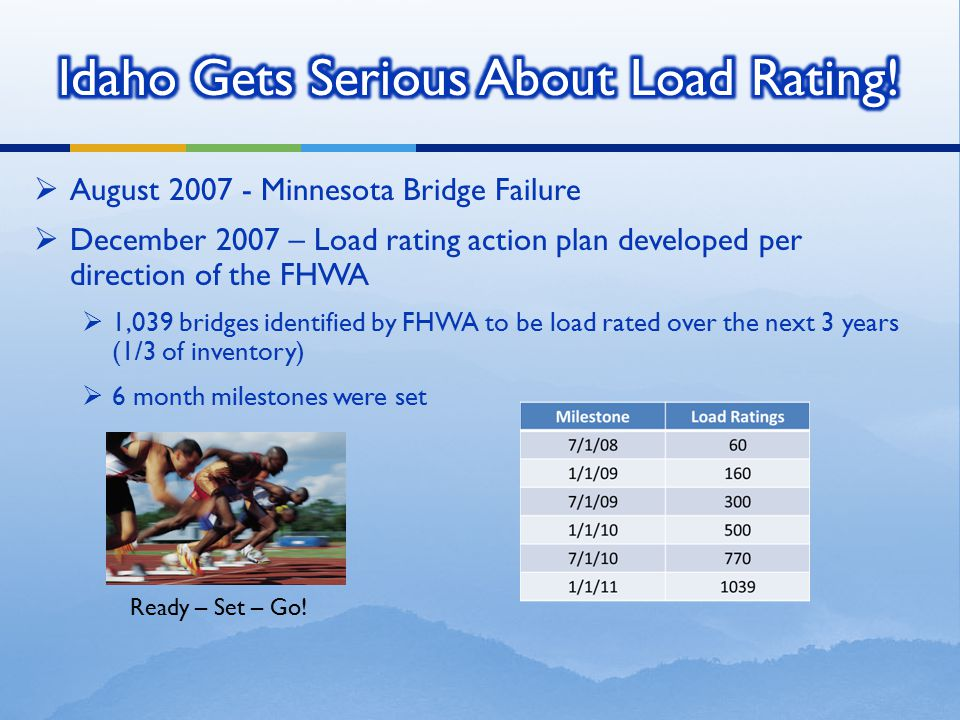 Idaho Gets Serious About Load Rating!