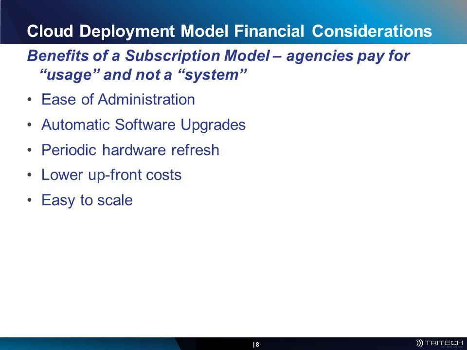 Cloud Deployment Model Financial Considerations