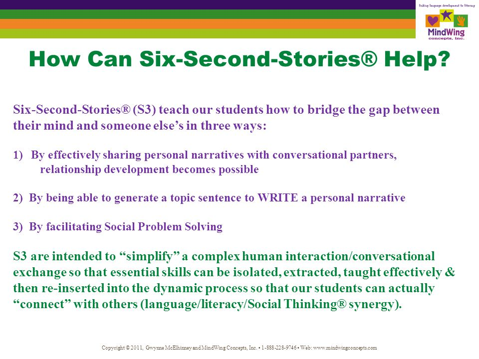 Why Do Six-Second-Stories® Work