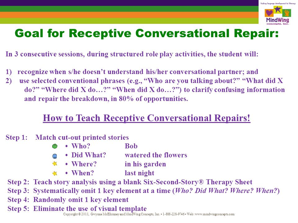 How to Teach Expressive Conversational Repairs!