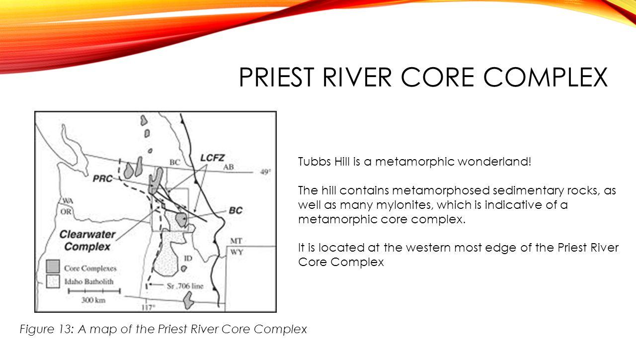 Priest River core complex