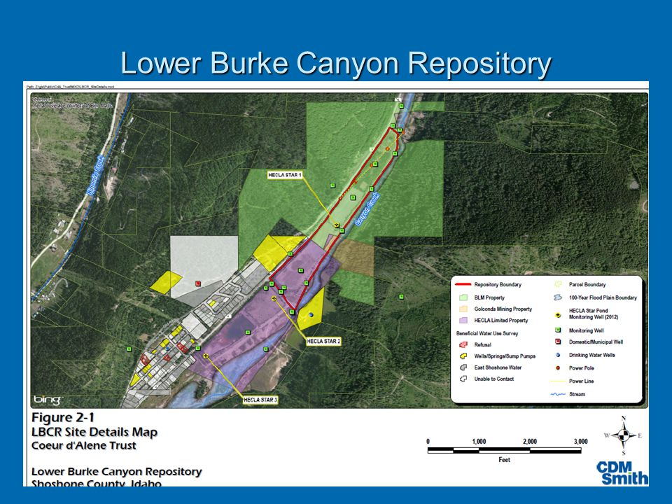 Lower Burke Canyon Repository