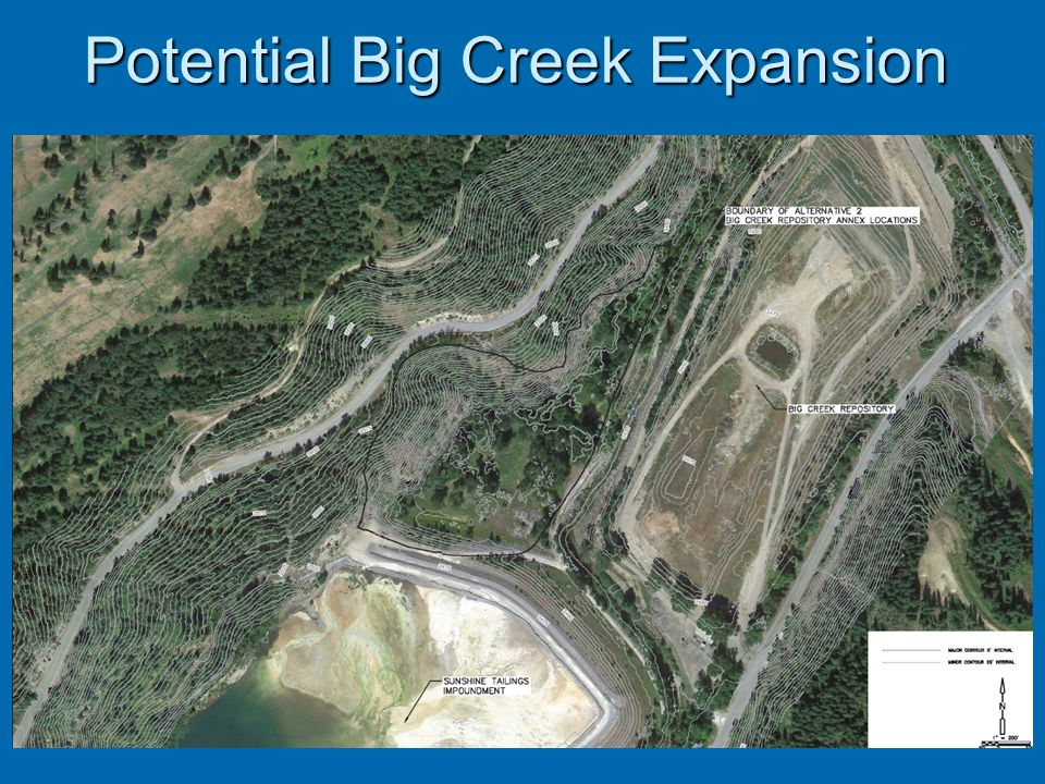 Potential Big Creek Expansion