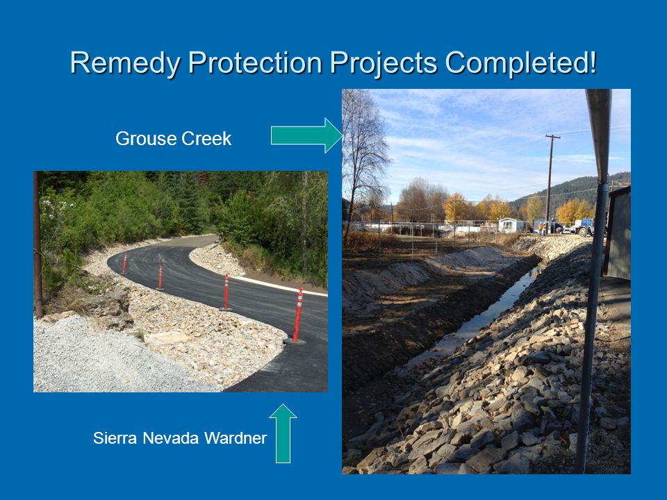 Remedy Protection Projects Completed!