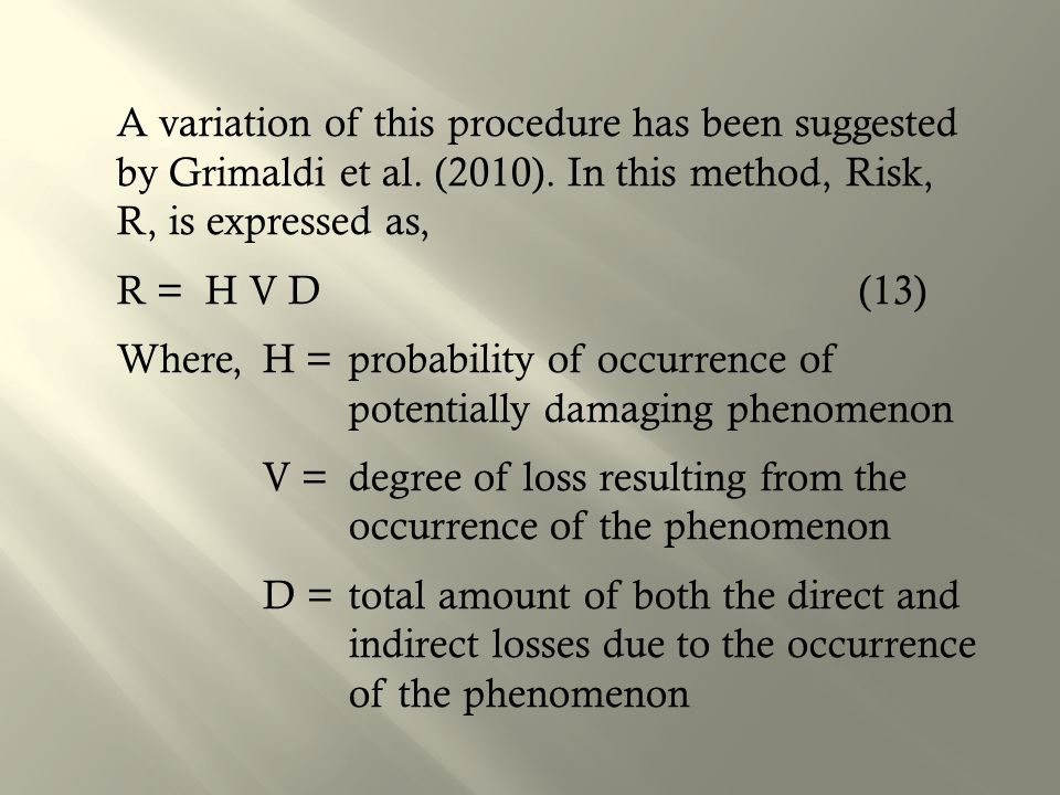 A variation of this procedure has been suggested by Grimaldi et al