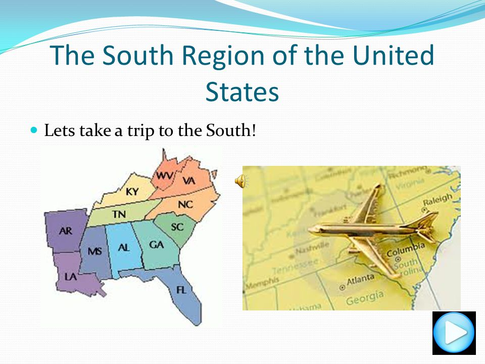 The South Region of the United States