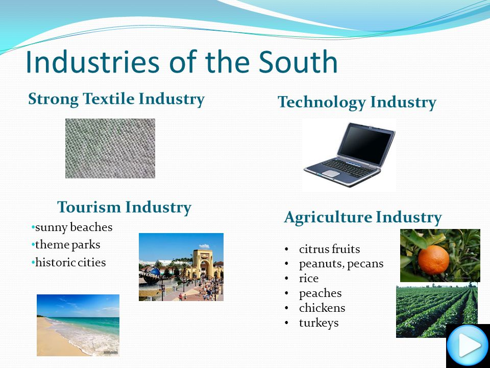 Industries of the South