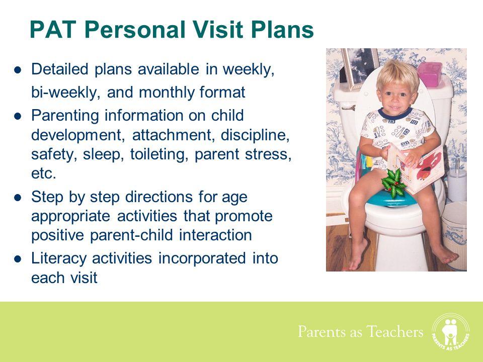 PAT Personal Visit Plans