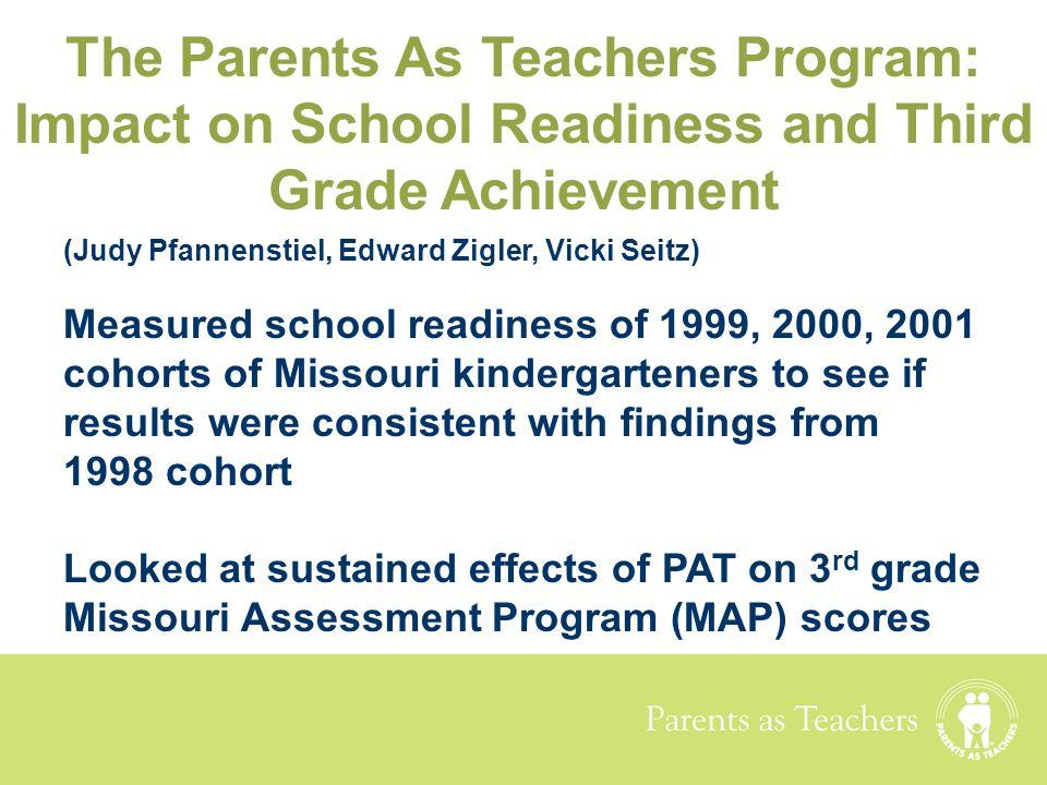 The Parents As Teachers Program: