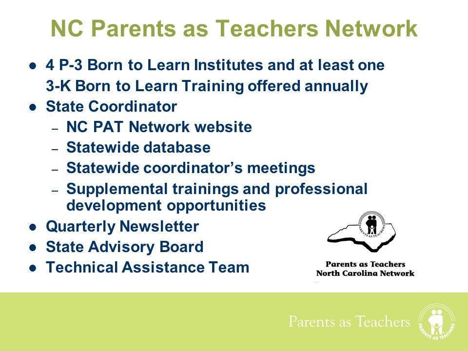 NC Parents as Teachers Network