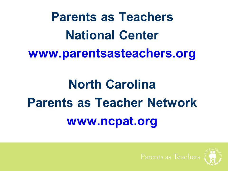 Parents as Teacher Network