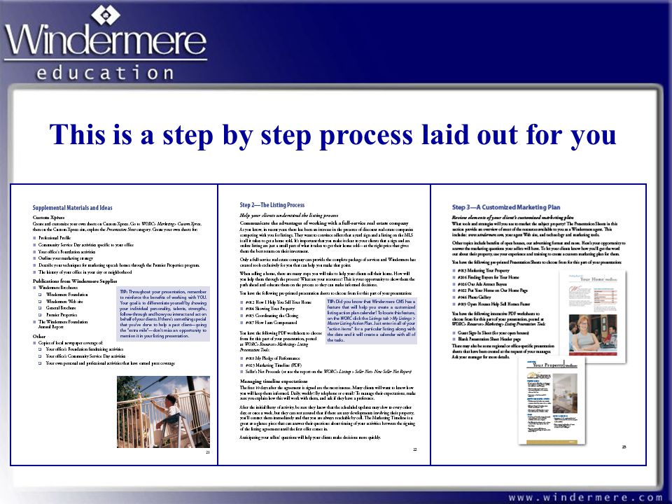 This is a step by step process laid out for you