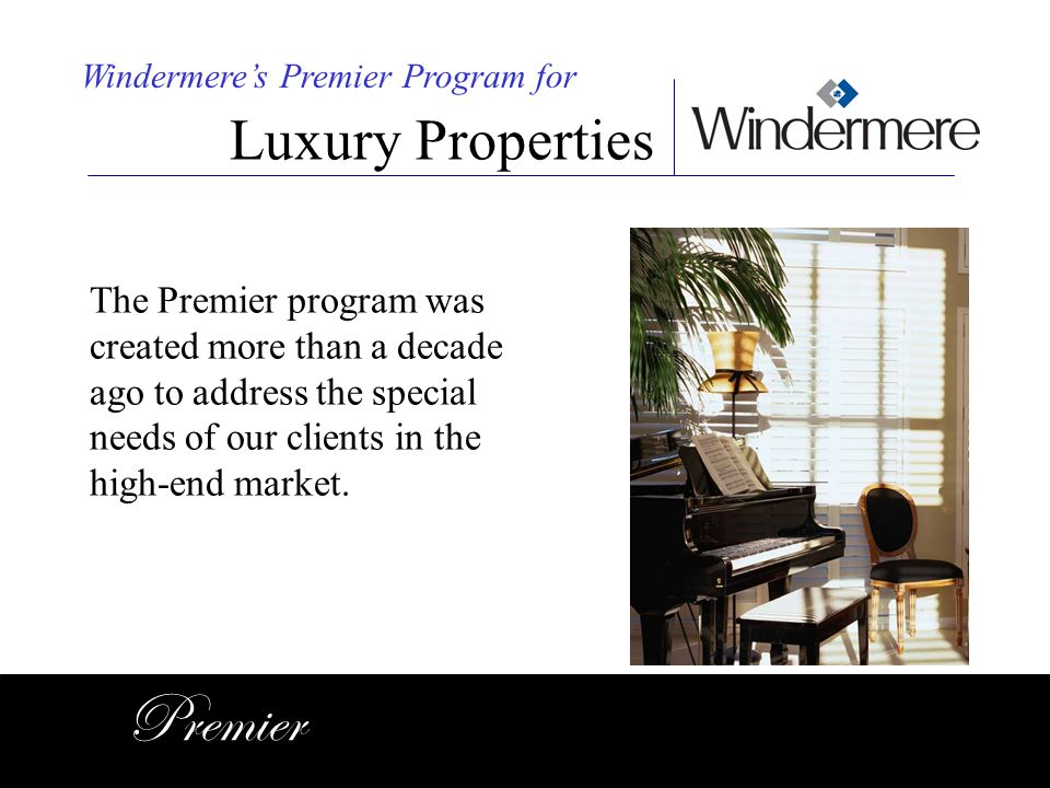 Premier Luxury Properties