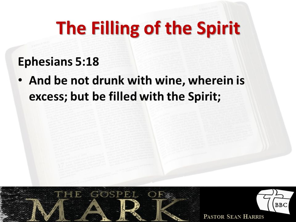 The Filling of the Spirit