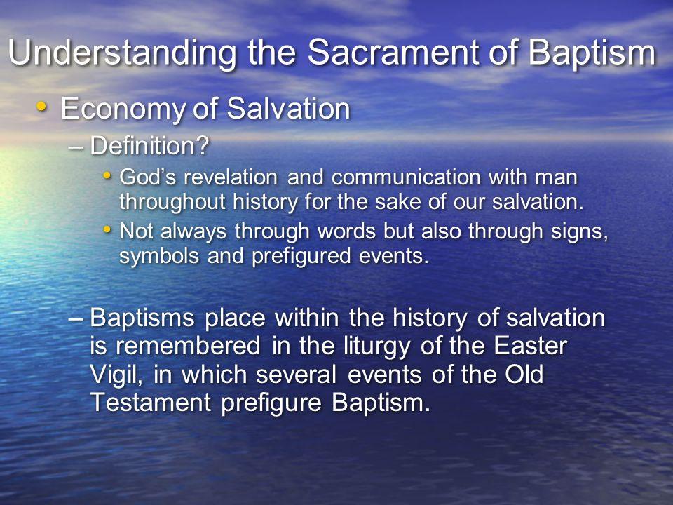 Understanding the Sacrament of Baptism