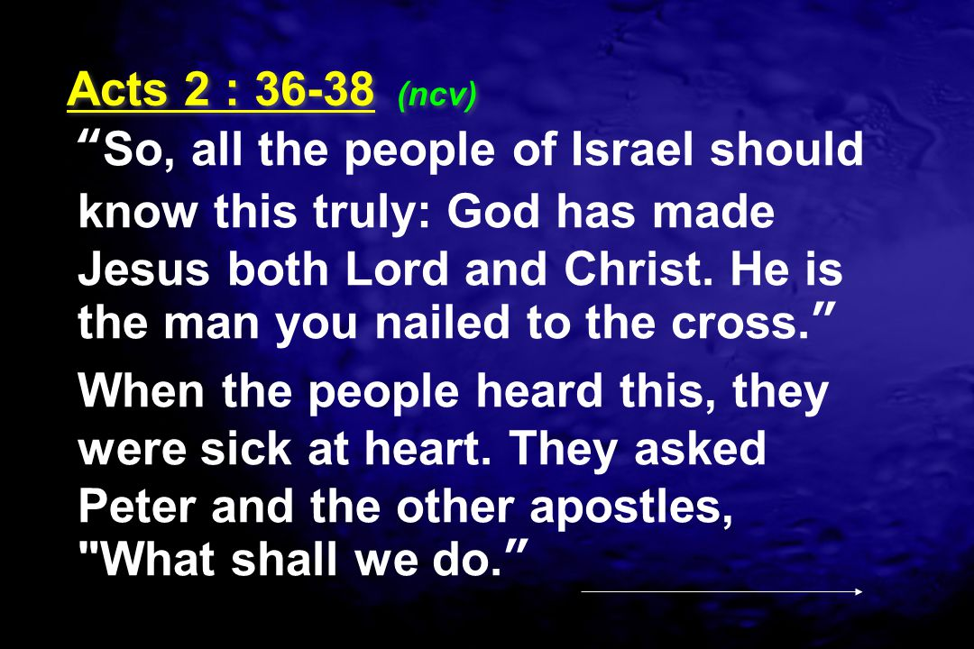 Acts 2 : (ncv)