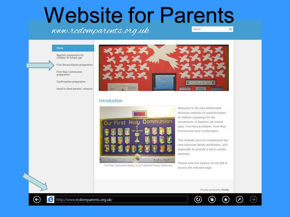 Website for Parents