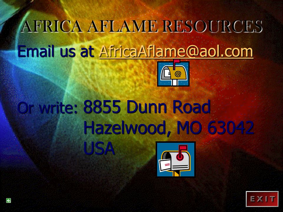 AFRICA AFLAME RESOURCES