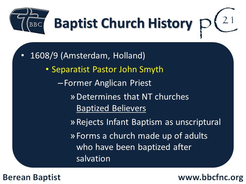 Baptist Church History