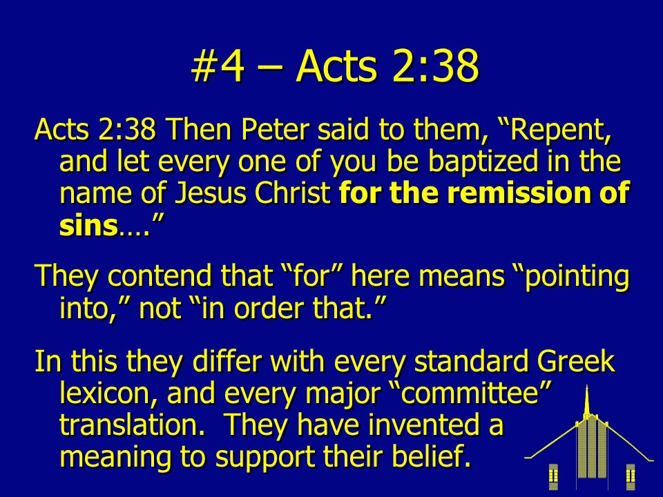 #4 – Acts 2:38