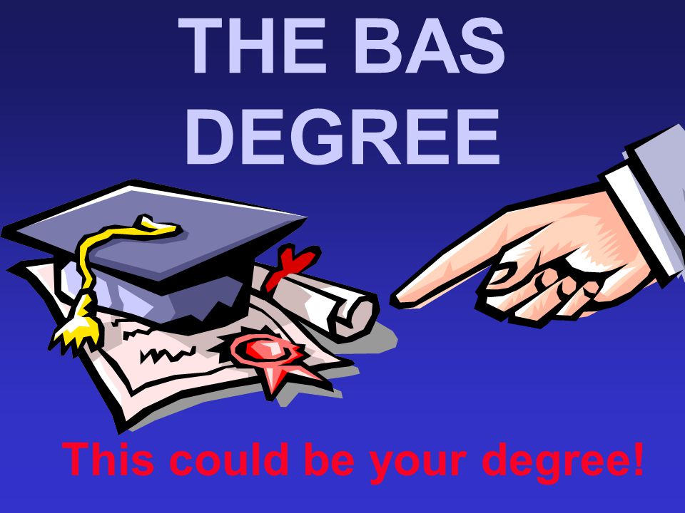 This could be your degree!