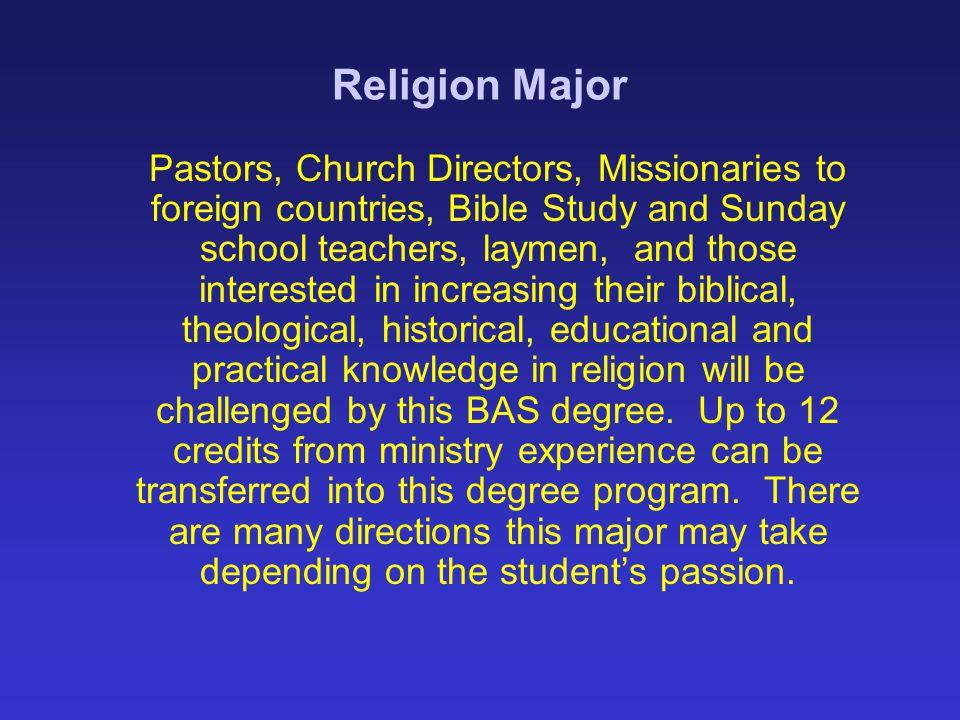 Religion Major