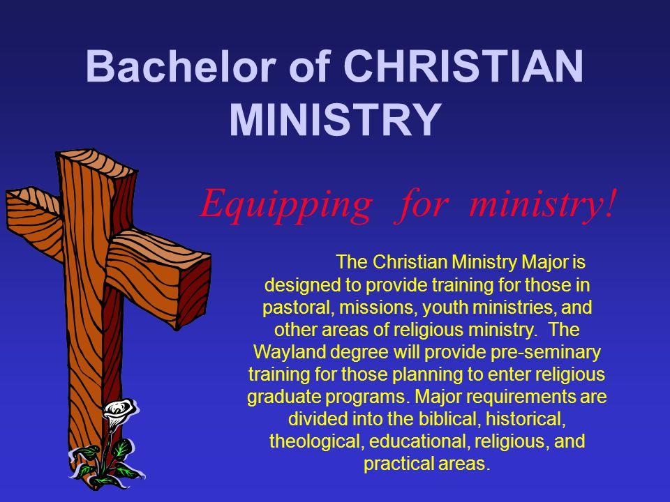 Bachelor of CHRISTIAN MINISTRY