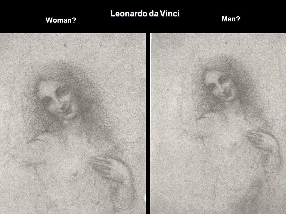 Leonardo da Vinci Woman Man