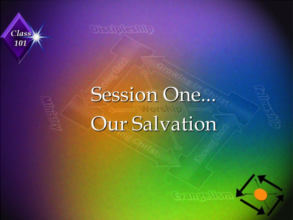 Session One... Our Salvation