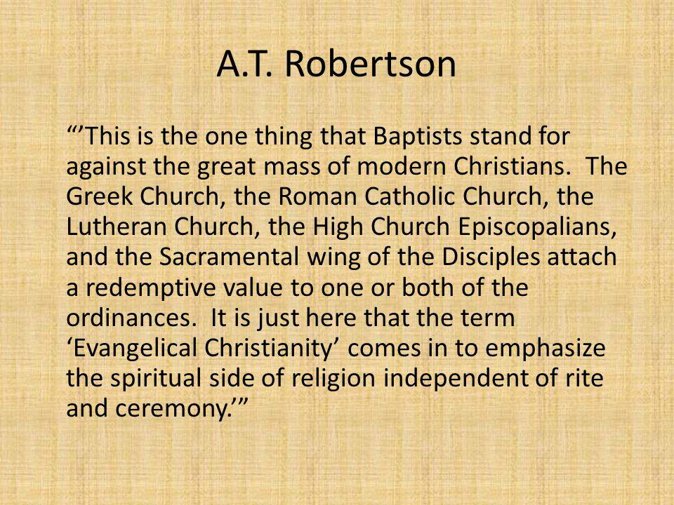 A.T. Robertson