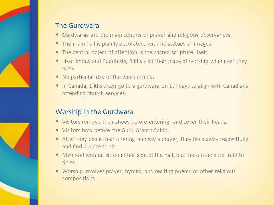 Worship in the Gurdwara