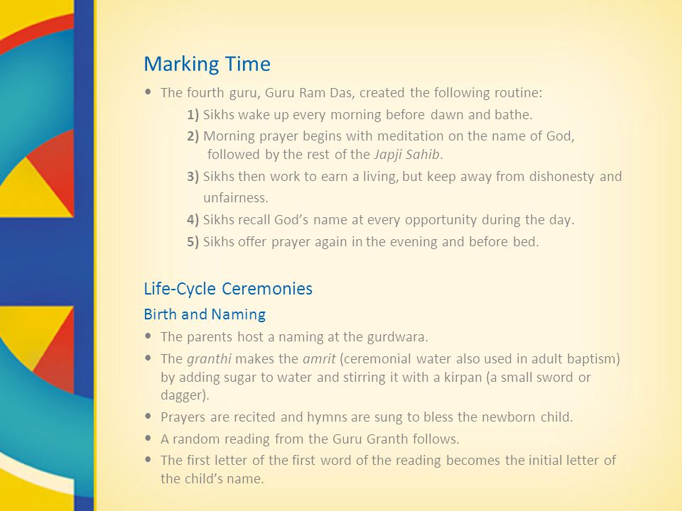 Marking Time Life-Cycle Ceremonies Birth and Naming