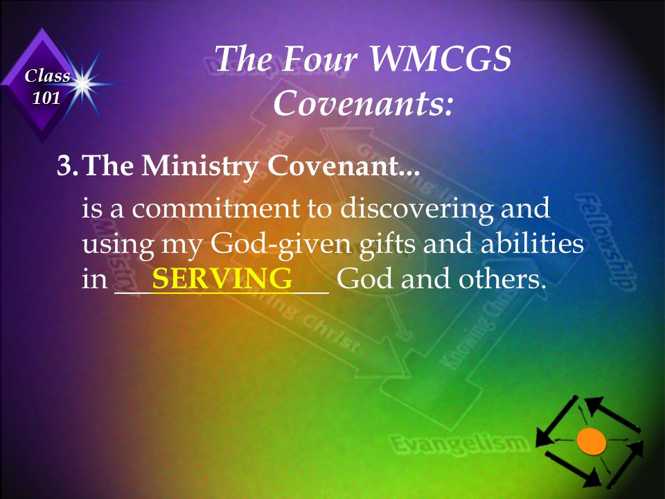 The Four WMCGS Covenants: