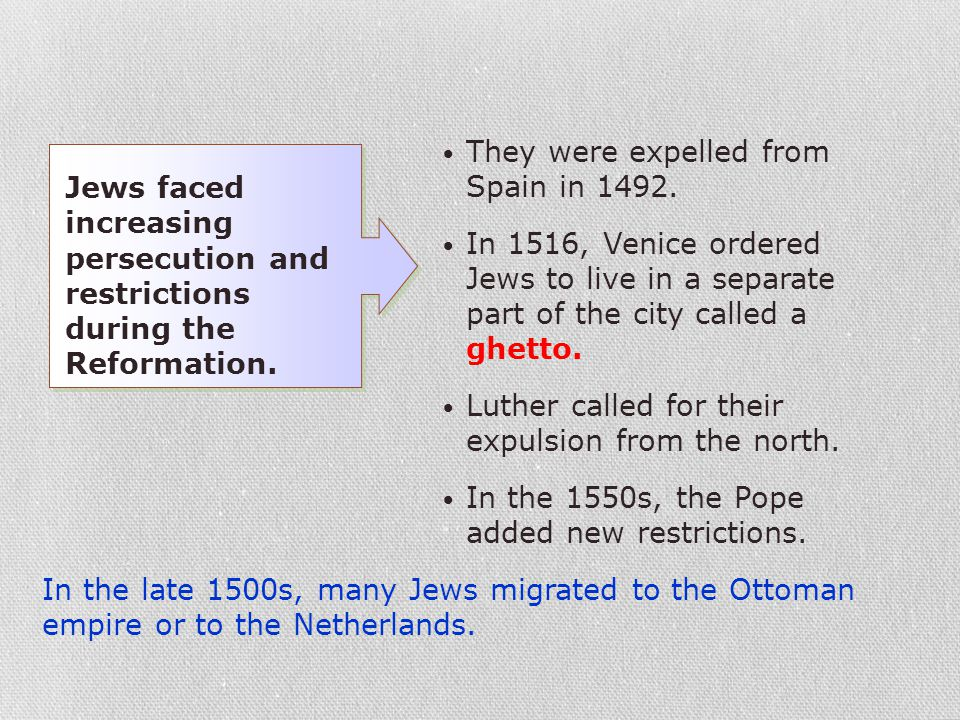 They were expelled from Spain in 1492.