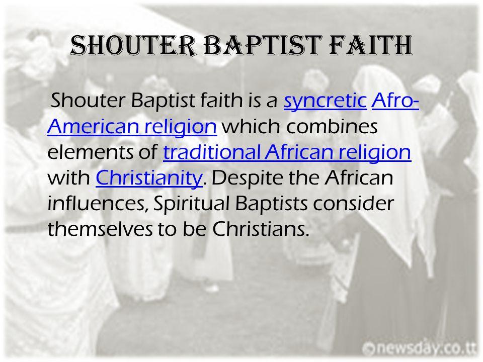 Shouter Baptist faith
