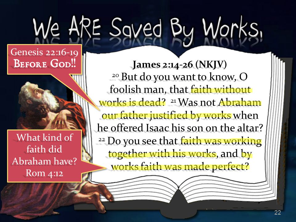 What kind of faith did Abraham have Rom 4:12