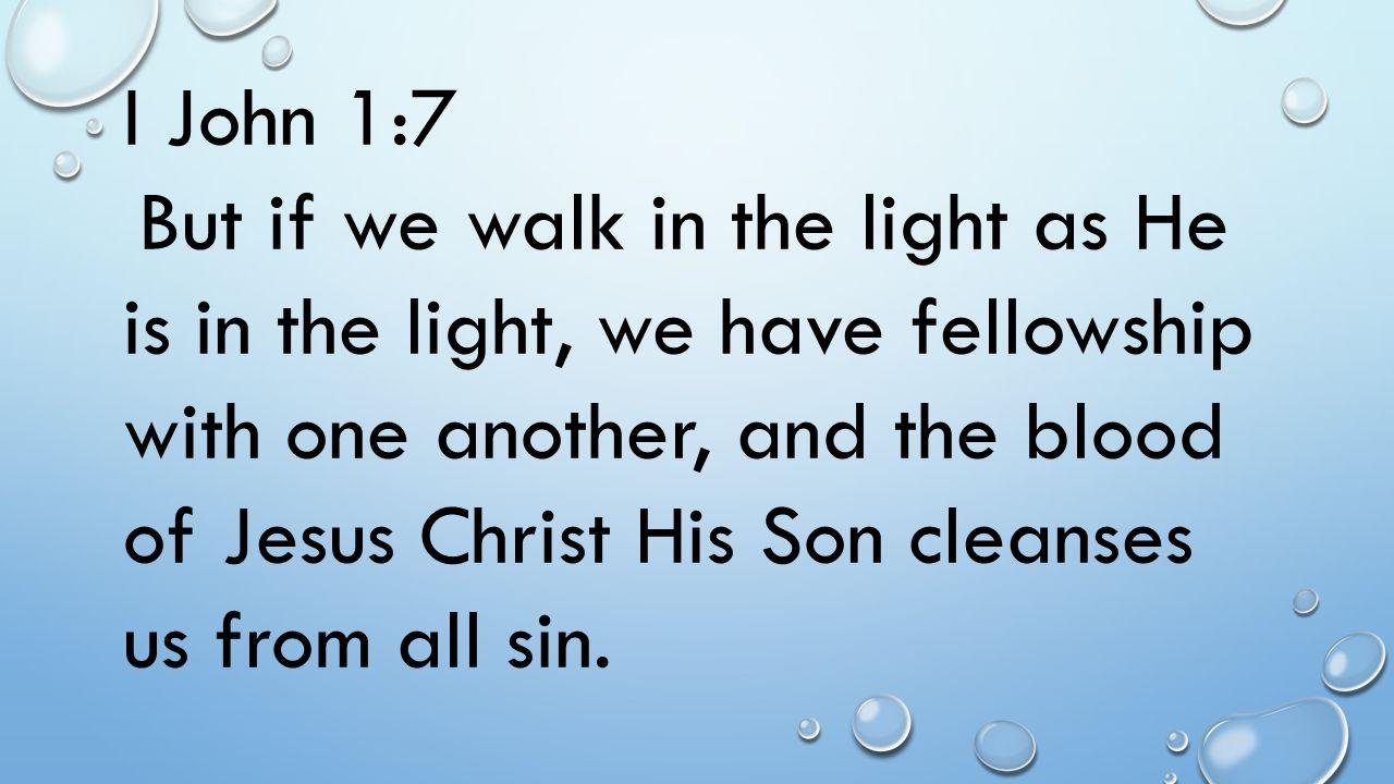 I John 1:7