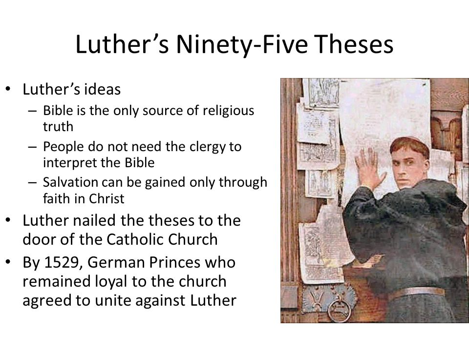 Luther's Ninety-Five Theses