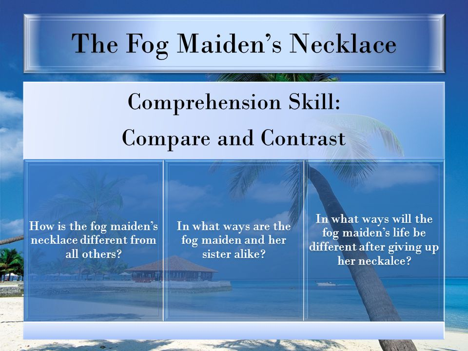 The Fog Maiden's Necklace