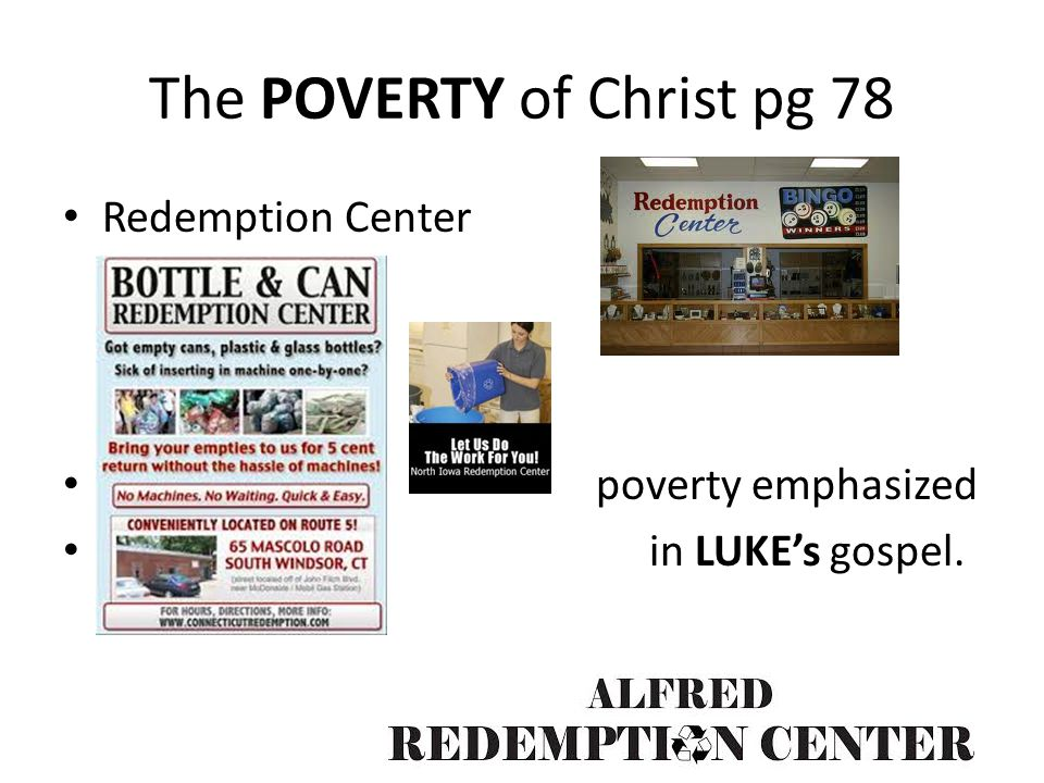 The POVERTY of Christ pg 78