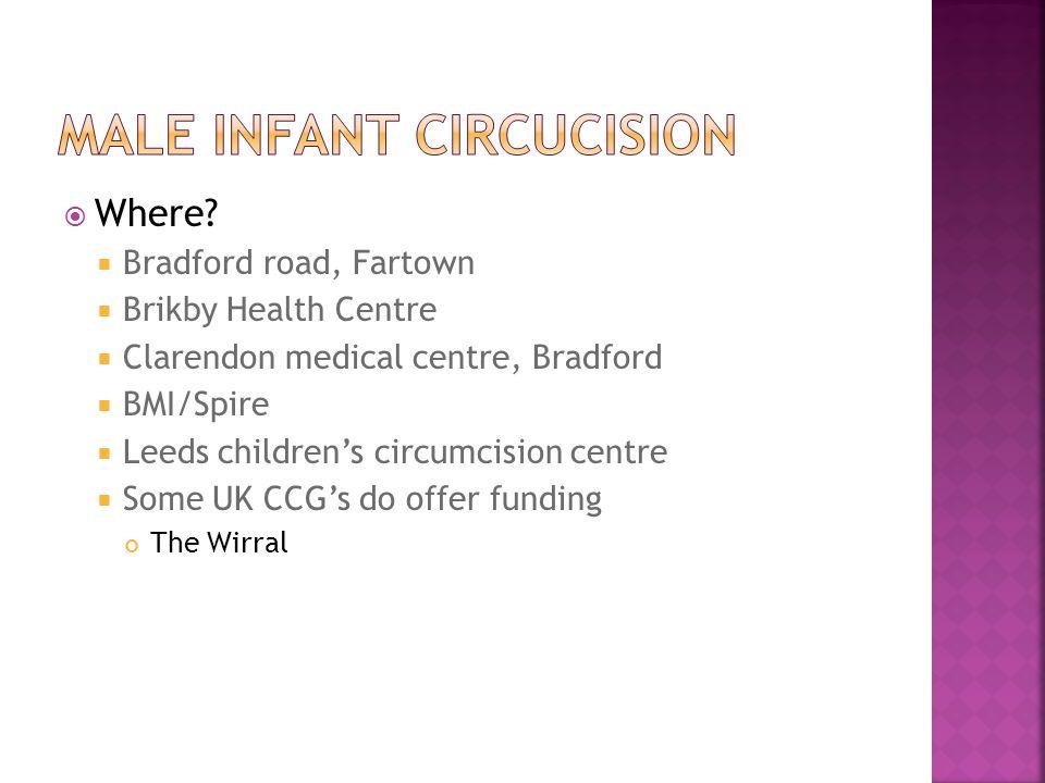 Male infant circuCIsion