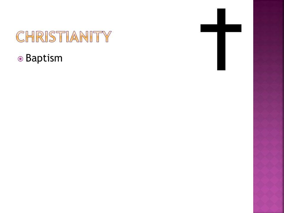 Christianity Baptism.