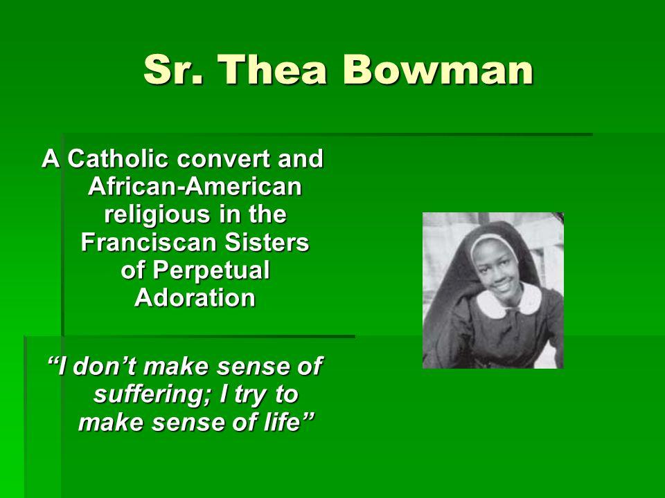 Sr. Thea Bowman