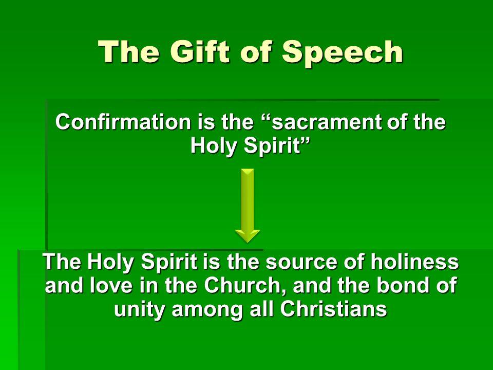 The Gift of Speech
