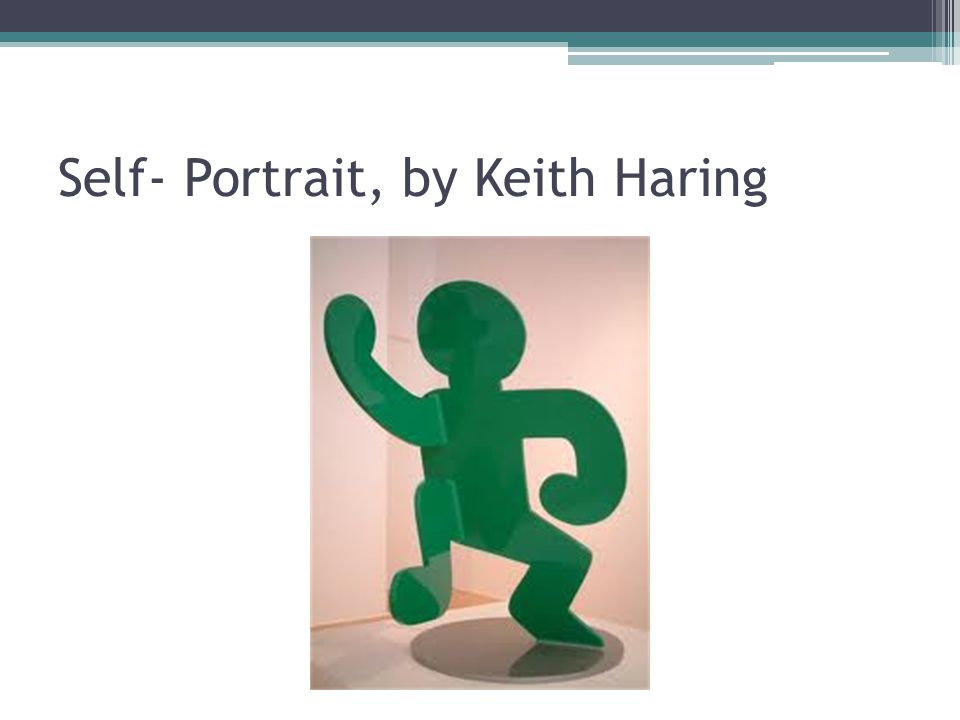 Self- Portrait, by Keith Haring