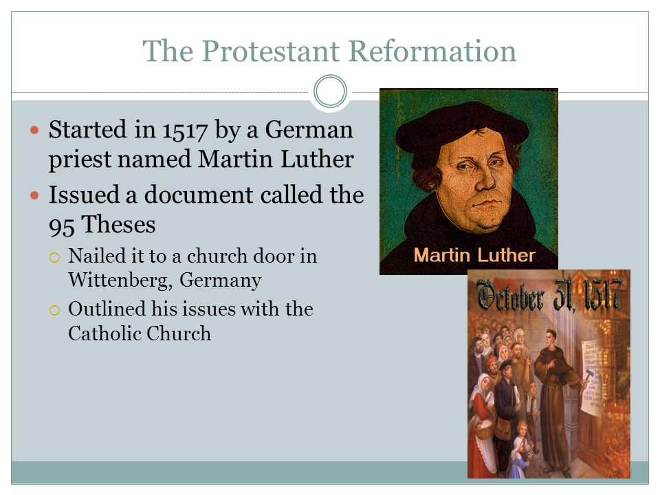 protestant reformation The protestant reformation [hans j hillerbrand] on amazoncom free shipping on qualifying offers originally published more than forty years ago, this important collection brings together the works and writings of the revolutionary minds behind the protestant reformation—and it remains a major resource for teachers.