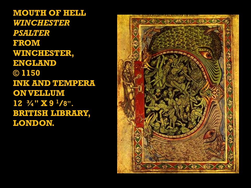 Mouth of Hell Winchester Psalter