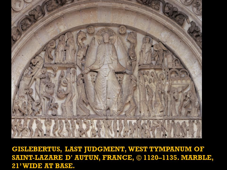 The Cluniac bishop Etienne de Bage had the Cathedral of Saint-Lazare d Autun built, and it was consecrated in 1132. It supposedly houses the relics of Lazarus.