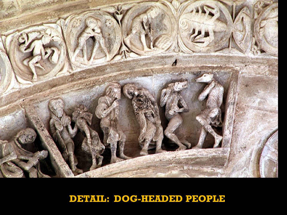 DETAIL: DOG-HEADED PEOPLE